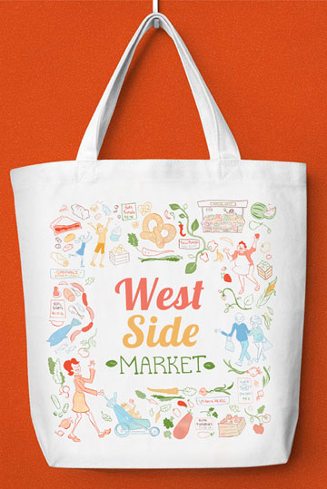 Angelia's Tote Bag mock-up